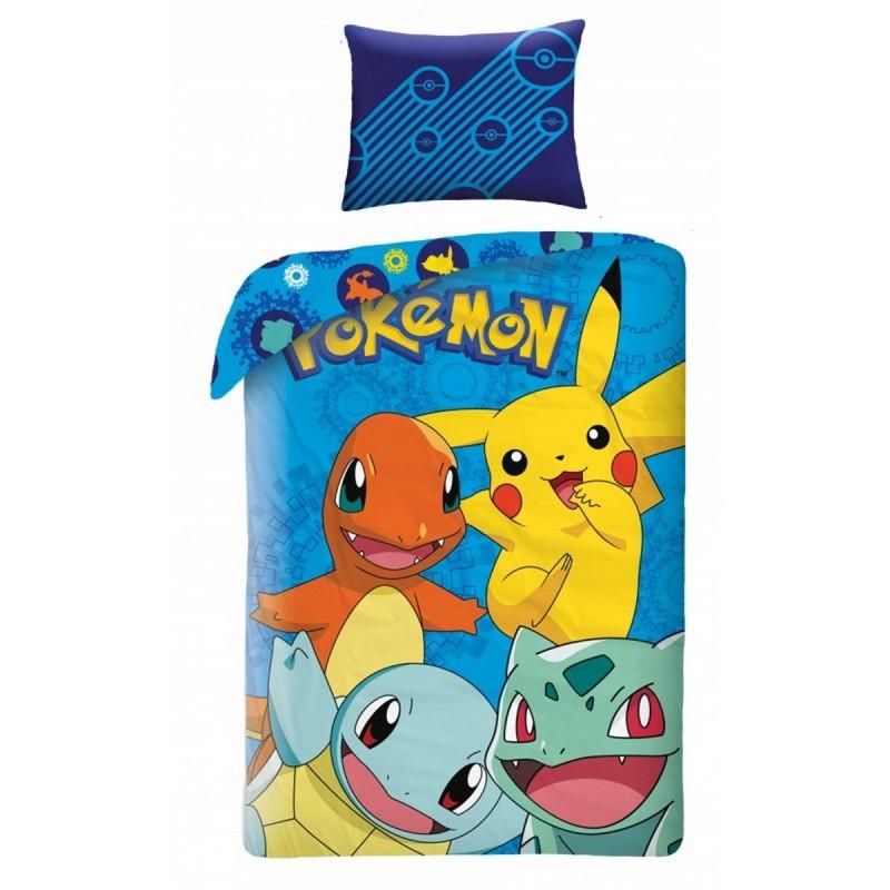 Povlečení Pokémon HX006 - 140x200, 70x90, 100% bavlna