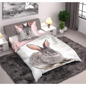 Povlečení Králík - 140x200 a velkou postel