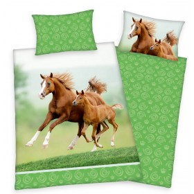 Herding povlečení Koně 2017 - 140x200, 70x90, 100% bavlna