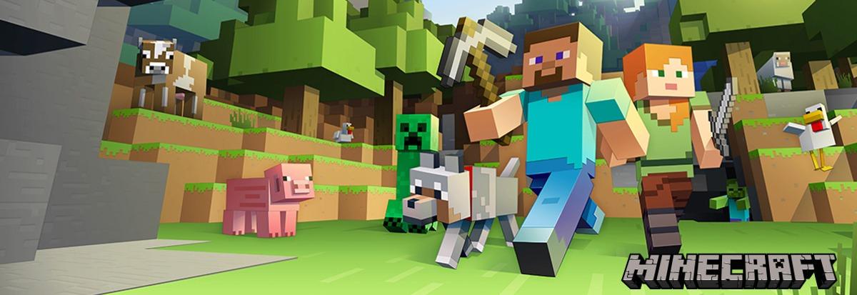 5286fa6838 Ložní obliečky s motivem Minecraft